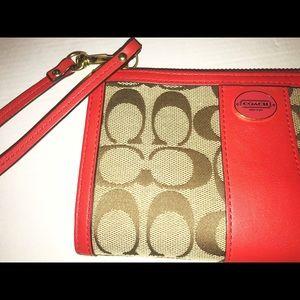 Coach wallet/wristlet